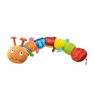 Разноцветные гусеницы, плюшевые детские игрушки, многофункциональная Музыкальная кукла гусеницы, мягкая плюшевая подушка, игрушка для мал...