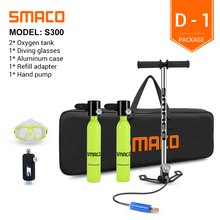 Dive-Cylinder Scuba-Diving-Tank-Equipment Litre-Capacity SMACO Mini with 8-Minutes Refillable-Design