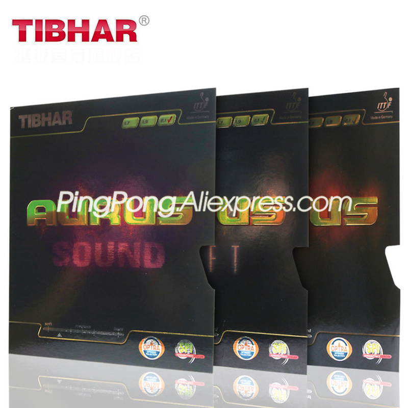 TIBHAR AURUS SOUND / SOFT Table Tennis Rubber Orignal TIBHAR AURUS Ping Pong Sponge
