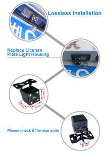Image 3 - Luzes da placa de licença do suporte da câmera de visão traseira do carro ezzha para mercedes benz cls class 300 w219 r300 r350 r500 ml350 w211 251
