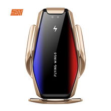 15W Qi Wireless Car Charger Automatic Clamping Fast Charging Wireless Charger Car Air Vent Mount Phone holder For Smart Phone