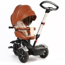 Дорожный трехколесный велосипед L Trailer MICR trike XL с двумя способами езды, большая прогулочная коляска для малышей возрастом от 6 месяцев до 8 лет, вращающийся на 360 градусов