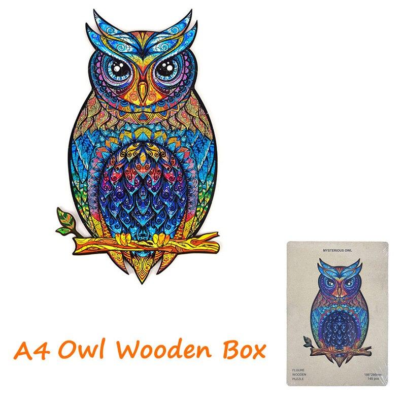 WoodenBox A4 Owl
