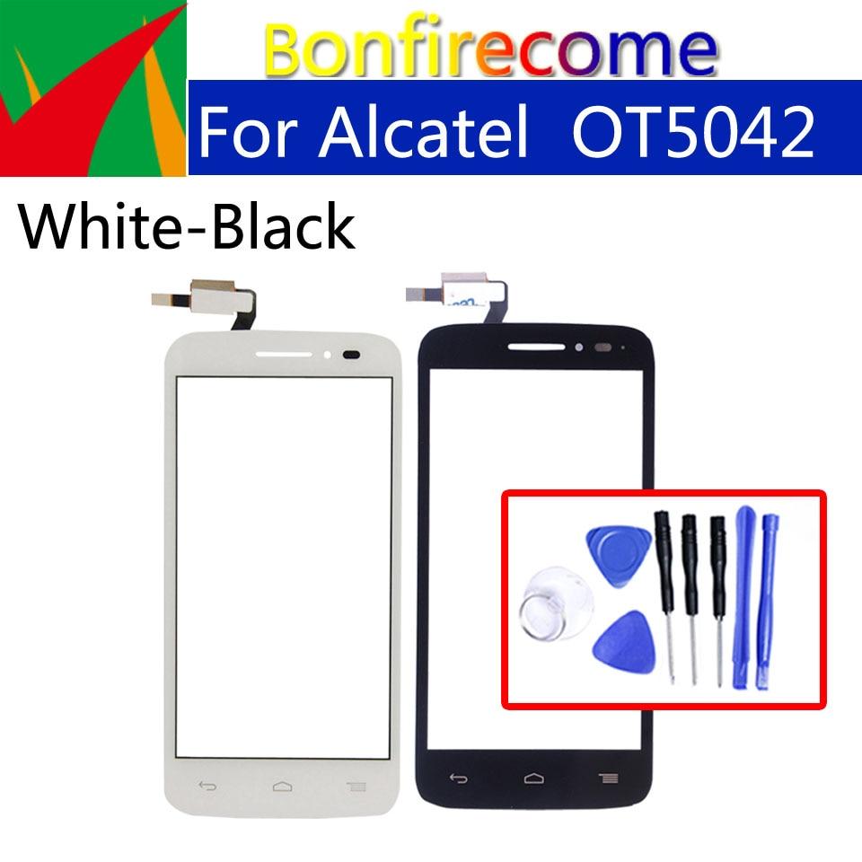 Touchscreen For Alcatel One Touch POP 2 OT5042 OT 5042 5042D Touch Screen Panel Sensor Digitizer Glass Replacement 4.5