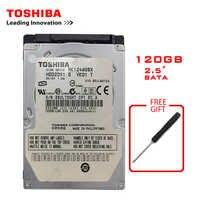 Marca TOSHIBA 120GB 2.5 SATA Del Computer Portatile Notebook HDD Interno Hard Disk Drive 120G 100 MB/s 2/ 8mb 5400-7200RPM disco duro interno