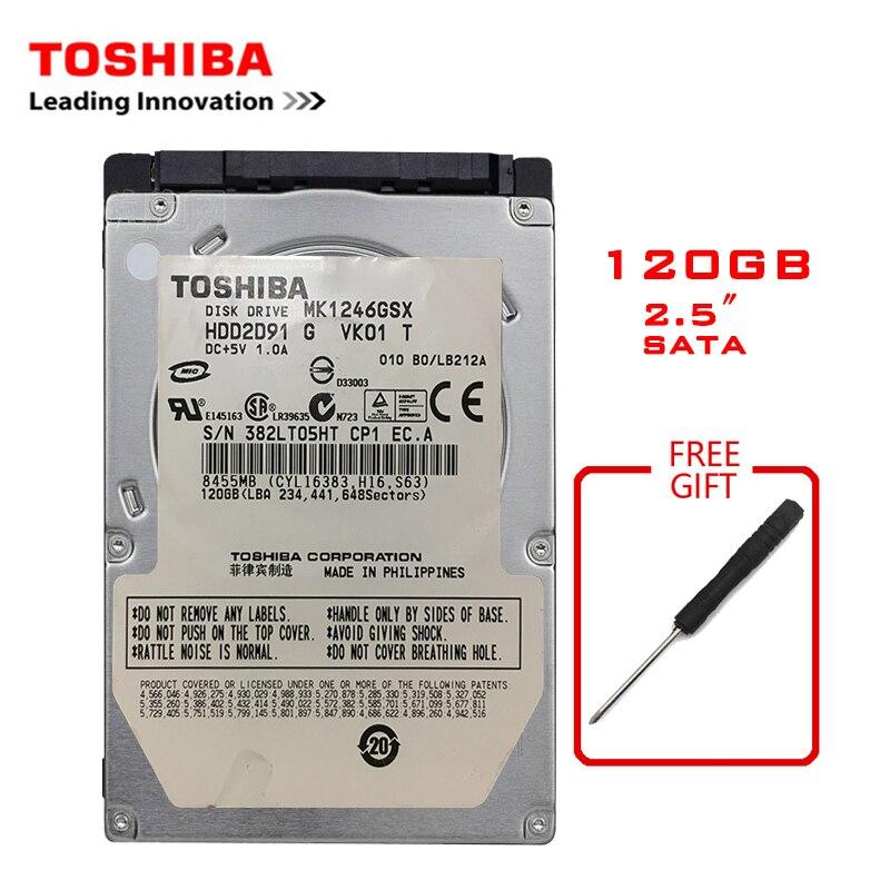 TOSHIBA 120GB 2.5
