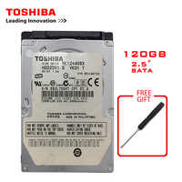 TOSHIBA 120GB 2.5 SATA Laptop Notebook Internal HDD Hard Disk Drive 120G 60MB/s 2/8mb 5400-7200RPM disco duro interno
