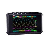 4 Channel 100MS/s MINI Nano DSO213 DS213 Professional Portable Digital Oscilloscope Digital DSO 213 DS 213 with X1 & X10 Probe