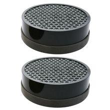 2 paket hava temizleyici yedek filtre için Levoit LV H132, aktif Carb filtreler kaldırır ve yakalar 99.7% alerjenler