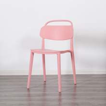 Modern Fashion Plastic Lounge Chair Dining Chair Restaurant Office Meeting Computer Chair Home Bedroom Learning Plastic Chair