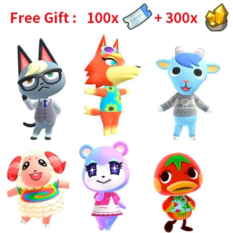 Not Amiibo Card Digital Code Animal Crossing Villager Move in Raymond Zucker Stitches Animal Crossing Villager Judy Laura Island