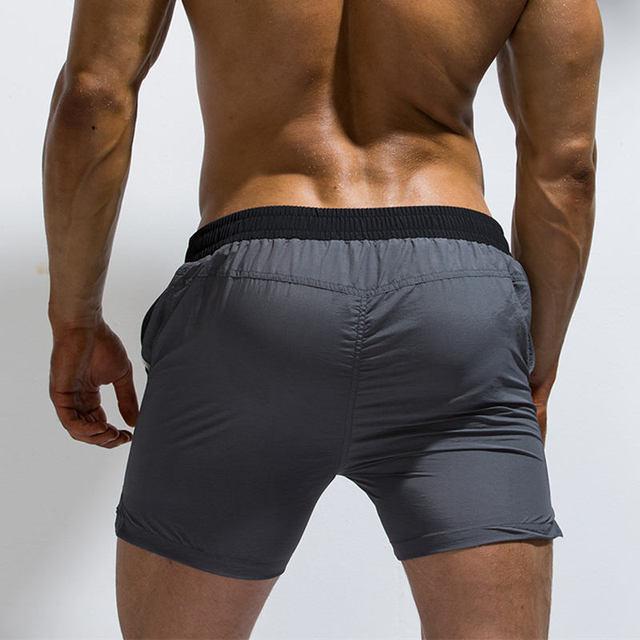 Nylon Mens Swimming Shorts Quick Dry Waterproof