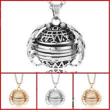 Collier et médaillon avec Photo extensible pour femmes, pendentif, ange, cadeau, bijoux de décoration, chaîne autour du cou, bijoux pour femmes