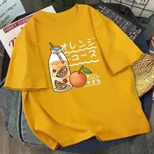 Kawaii impression T-shirt femmes Harajuku Ullzang mode T-shirt graphique de dessin animé mignon Style coréen Top T-shirts femme Verano Mujer 2021