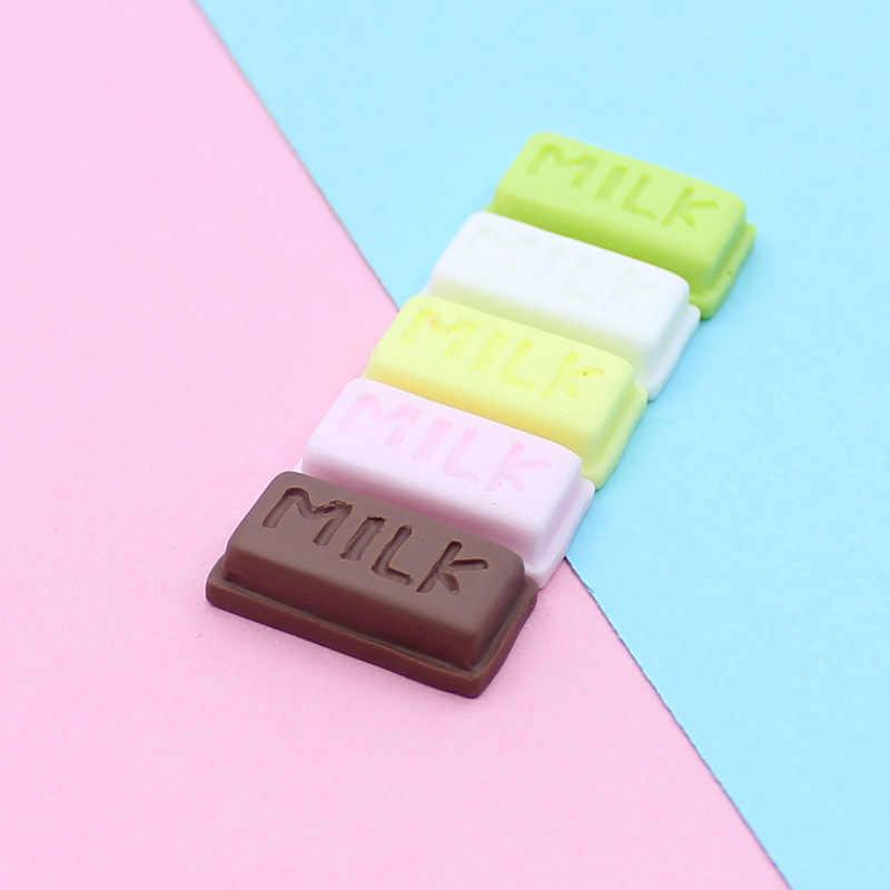 1pcs Miniature Mini ผลไม้และผักของเล่นครีมช็อกโกแลตของเล่นสำหรับตุ๊กตาเด็กตุ๊กตาเด็กครัวหญิงของเล่น E