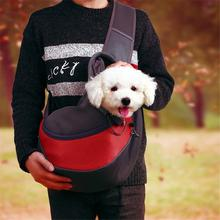 Travel Dog Backpack Outdoor Pet Carrier Shoulder Bag Breathable Mesh Puppy Carrying Backpack Small Pets Portable Handbag outdoor pets cat dog front backpack carrier travel bag bleathable mesh pet double shoulder backpack carrying shoulder pack puppy
