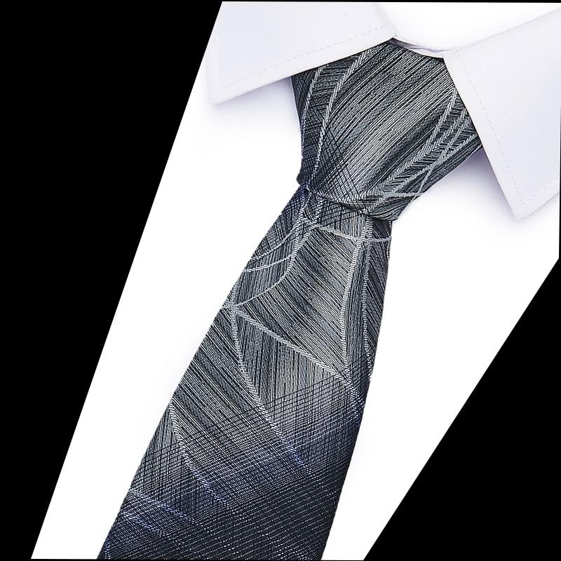 2020 Luxury Classic Neckties Classic Men's  Wedding Ties Jacquard Woven 100% Silk 6cm Men   Neck Ties