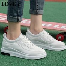 2019 Spring New Luxury Designer White Chunky Shoes Basket Female Platform Sneakers Women Tenis Feminino Casual Woma