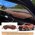 รถจัดแต่งทรงผม Flannel Dashboard หลีกเลี่ยง Pad Pad Light แพลตฟอร์มฝาครอบ Mats Rose สำหรับ Audi Q3 F3 2019-ปัจจุบัน Anti -พรมฝุ่น
