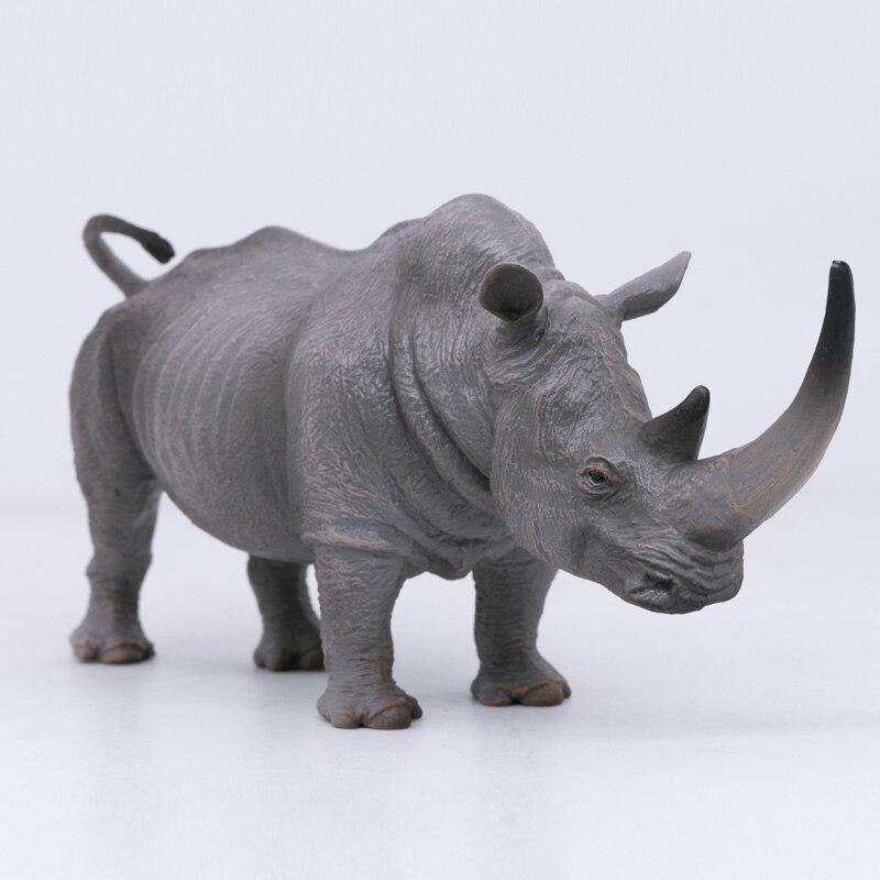 Collecta Alam Kehidupan Liar Hewan Badak Putih Plastik Pvc Figure Mainan Anak Model 88852 Aksi Figur Aliexpress