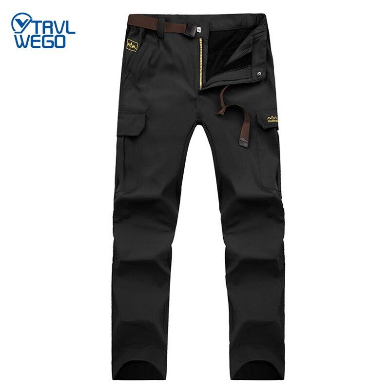 TRVLWEGO весенние быстросохнущие крутые длинные штаны для пеших прогулок, дышащие спортивные штаны для мужчин, Осенние уличные походные брюки ...