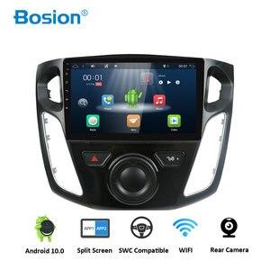 Автомагнитола Bosion для Ford Focus 3 Mk 3 2012-2019, мультимедийный видеоплеер с GPS-навигацией, Android 10, RDS, Wi-Fi, 4G, IPS-экран, DSP
