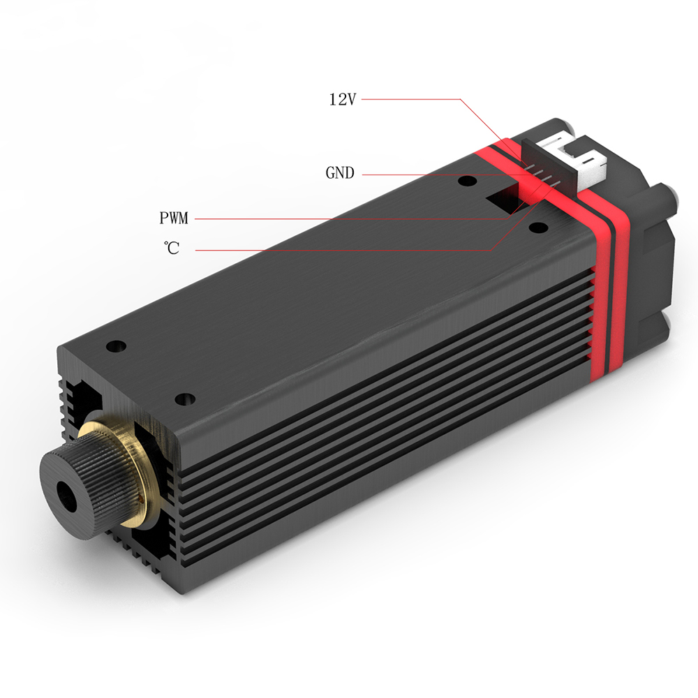 Laser Head Laser Module 20w 450nm Blu-ray Light Laser Head For Master Series DIY Carving Engraving Machine Engraver Accessory