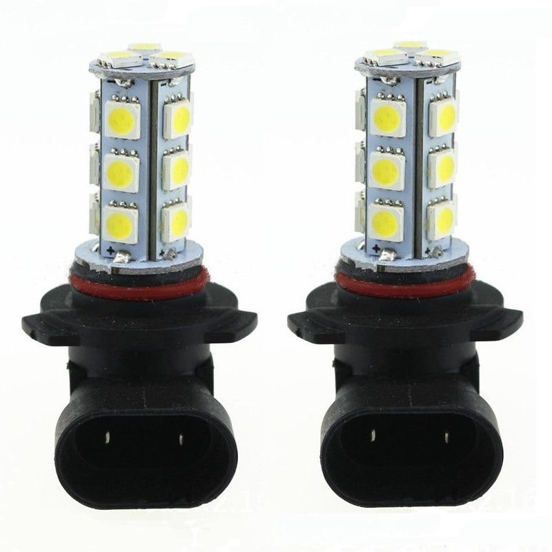 LED Light 3w DC12V White 9005 9006 18SMD 5050 LED Bulb Led Light Led Lamp Light 3w Led Fog Driving 2 Pcs