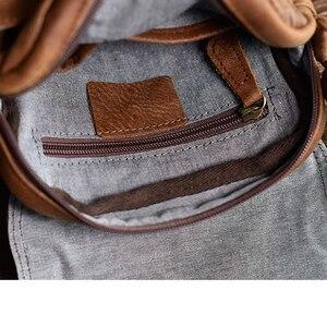Image 5 - AETOO فرك الطبقة العليا حقيبة كتف جلدية ريترو حقيبة رجالية أوروبا والولايات المتحدة الاتجاه الصيف حقيبة ساعي حقيبة صغيرة
