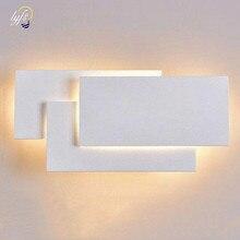 12W LED duvar ışık modern kule yığını tarzı duvar dekorasyonu lambası yatak odası oturma odası merdiven koridor aydınlatma