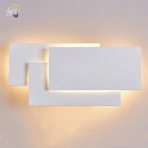 Lámpara LED de pared de 12W, moderna Torre, estilo apilado, decoración de pared, lámpara para dormitorio, sala de estar, escalera, Iluminación del pasillo