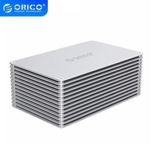 Корпус для жесткого диска ORICO 2,5, 3,5 дюйма, адаптер SATA к USB 3,0 SSD, высокоскоростной корпус для Samsung Seagate SSD 20 ТБ MAX