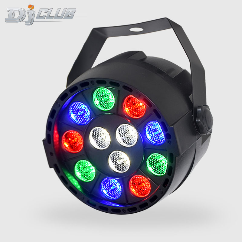LED Par 12x3w RGBW With DMX512 For Club Sound Activated Disco Ball