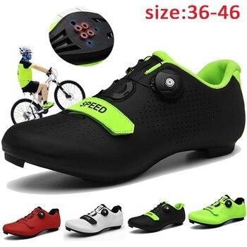 2020 novos sapatos de ciclismo sapilha mtb men tênis mulher sapatos de bicicleta de montanha auto-bloqueio sapatos de bicicleta originais 1