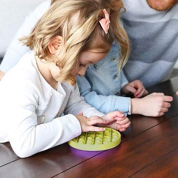 Squeeze Push Bubble Fidget zabawka sensoryczna autyzm specjalne potrzeby stres RelieverToys dla dzieci prezent urodzinowy prezent na boże narodzenie tanie i dobre opinie MUQGEW CN (pochodzenie) Stress Relief Toys Chiny certyfikat (3C) Urodzenia ~ 24 Miesięcy 8 ~ 13 Lat 14 lat i więcej 2-4 lat
