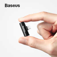Adaptador de auriculares Baseus L46 para iPhone 7 8 XR X divisor de audio portátil compatible con carga/música/llamada para lightning
