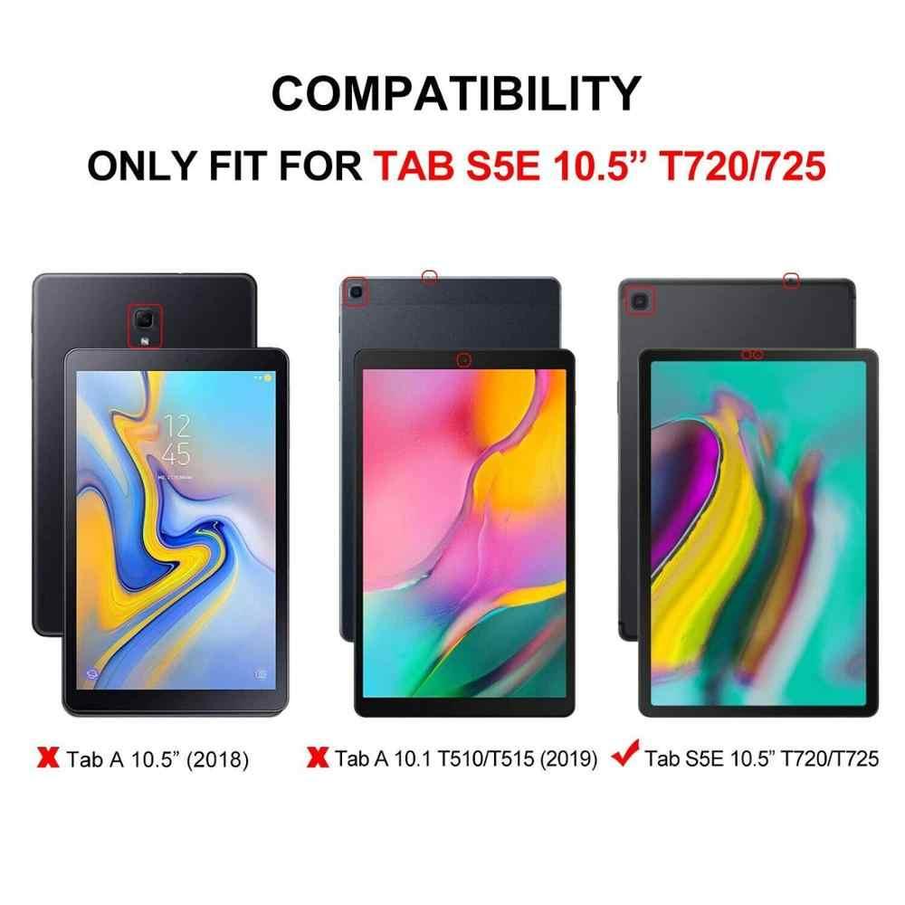 Clavier étui pour samsung Galaxy Tab S5E 2019 SM-T720 SM-T725 en cuir Bluetooth magnétique tablette clavier housse intelligente