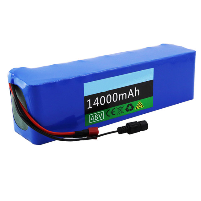 GTF batterie de vélo électrique 48v 14ah lithium ion batterie kit de conversion de vélo bafang 1000w et chargeur