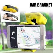 dropshipping Car Navigation Mobile Phone Bracket 360 Degree Rotatable Holder Stand Dashboard OE88