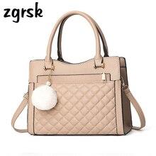 Women Female Handbags Designer Satchel Pu Leather Bags Small For Woman Bag Pink Business Bolsa Feminina