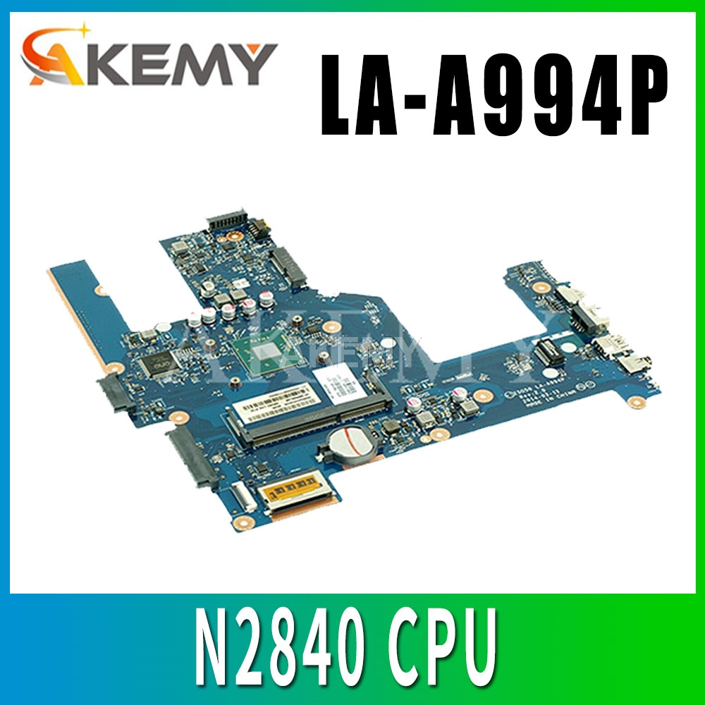 High quality For HP 15-R 15T-R 15-s 788289-501 788289-001 laptop motherboard <font><b>ZS050</b></font> <font><b>LA</b></font>-<font><b>A994P</b></font> w/SR1YJ N2840 CPU 100% fully tested image