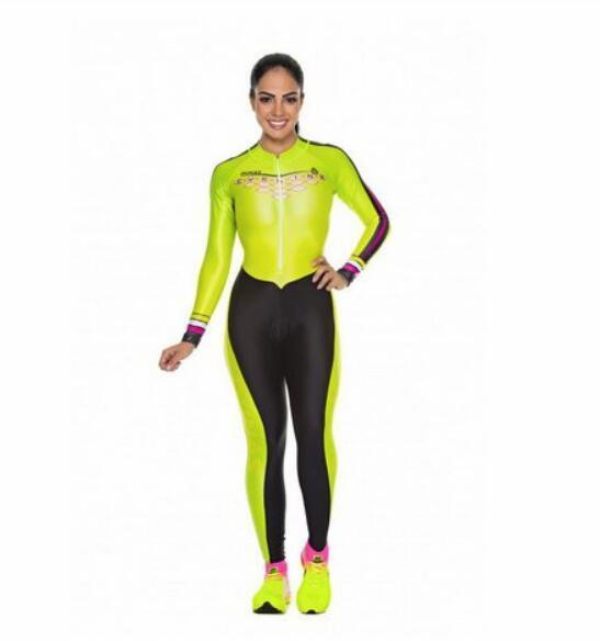 2020 pro equipe triathlon terno feminino camisa de ciclismo skinsuit macacão maillot ciclismo ropa ciclismo manga longa conjunto 5