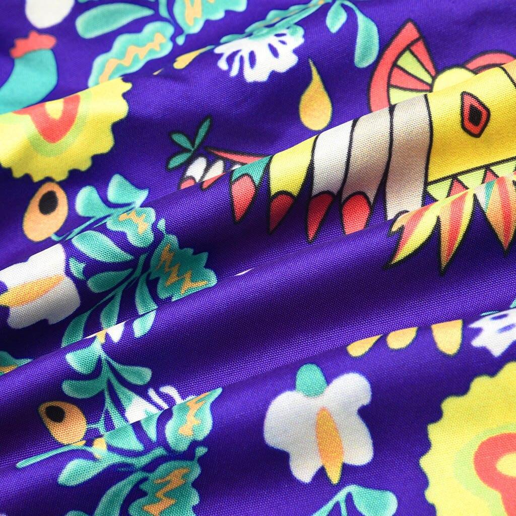 H7742e8a353b54763b12739b3e59c0c13E Spring Autumn Women Dress Plus Size 5XL Loose Print Long Sleeve V-Collar Button Party Dresses Casual Loose Women Dresses 2019