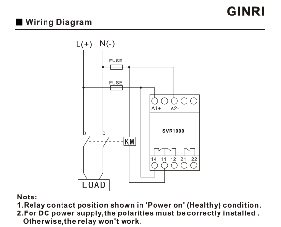 gaixample.org Single Phase Overvoltage and Undervoltage Protector ...