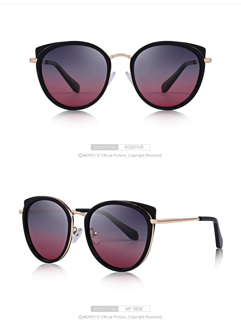 Merrys design feminino gato olho óculos de