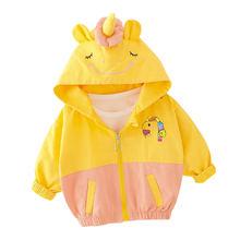 Детская весенне осенней повседневной одежды для девочек; Хлопковая