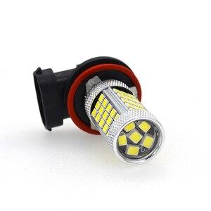 Image 5 - 2x projecteur pour voiture, ampoule H4 H7 H8/11 9005/HB3 9006/HB4 Auto 2835 66SMD, lumière, lampe de conduite DRL, accessoires blanc 12V, partie