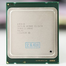 Intel Xeon מעבד E5 2670 E5 2670 מעבד (20M Cache, 2.60 GHz, 8.00 GT/s IntelQPI) GA 2011 SROKX C2  סטנדרטי חינם