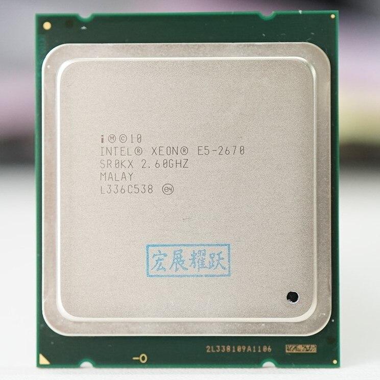 Xeon E5-2650 CPU Processor 8-Core 2.0GHz L3 20MB LGA2011 64-Bit Processor