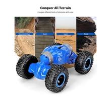 JJRC Q70 RC Car Radio Control 2.4GHz 4WD Twist- Desert Cars Off Road Buggy Toy High Speed Climbing RC Car Kids Children Toys